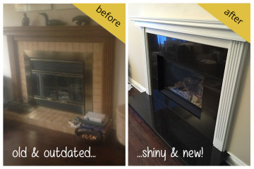 New Gas Fireplace Installation